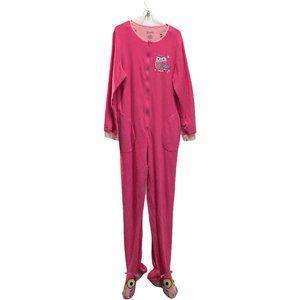 Nick & Nora Footie Pajama Fleece Footed One Piece